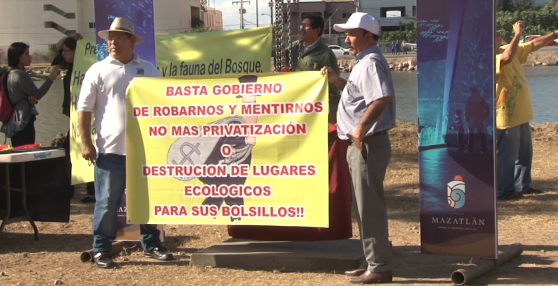 Ambientalistas aseguran ecocidio en proyecto Nuevo Acuario Mazatlán