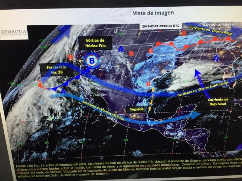 Seguirán mañanas frías y bancos de neblina en la región: Meteorológico