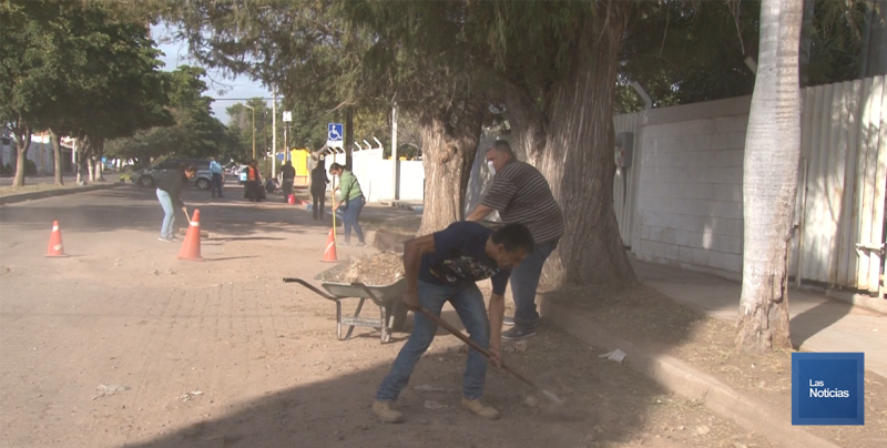 En Cajeme, Escuadrón vial continua con trabajos en planteles