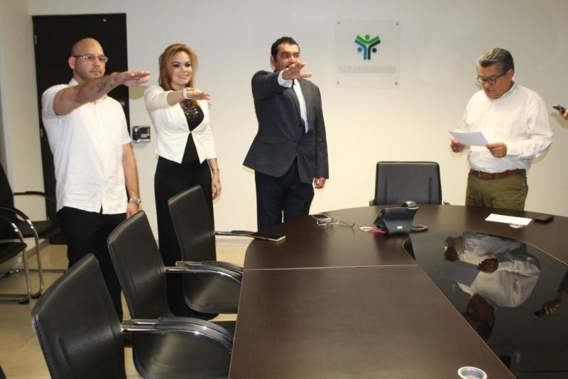 Rinden protesta nuevos servidores públicos en el SESESP