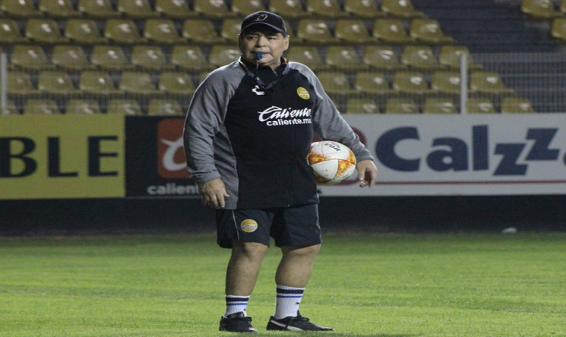 """Llorar a un velorio"": Diego Maradona"