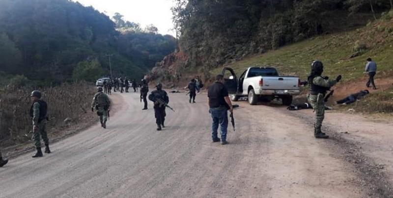 Ocho muertos y dos heridos deja ataque en Guerrero