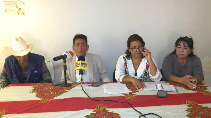Lideres indígenas en contra de que permanezca tomada la UAIS