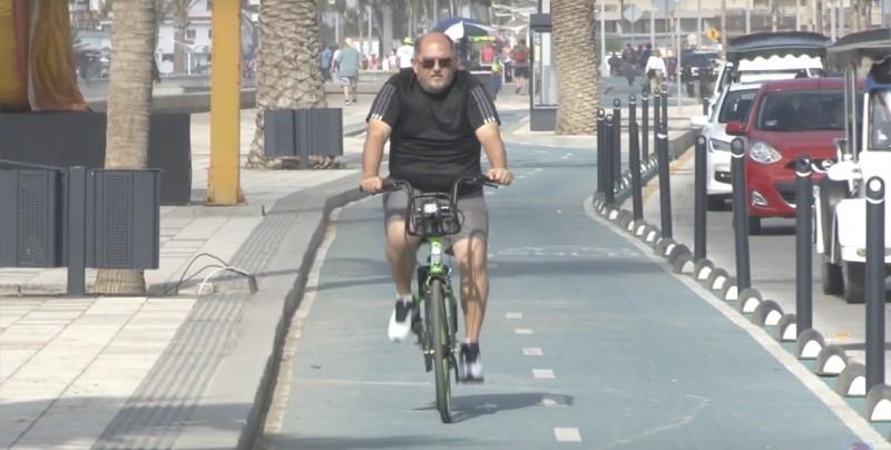 Así funcionan las bicicletas ecológicas del Malecón