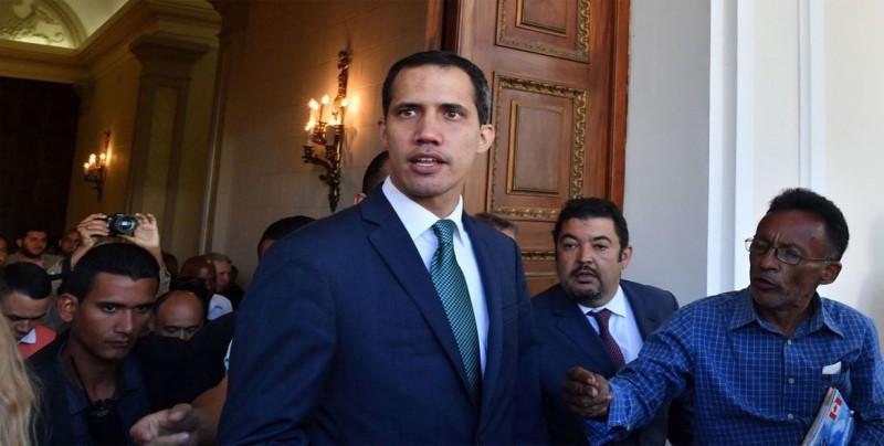 Guaidó escribe al Gobierno de Italia para pedir su apoyo