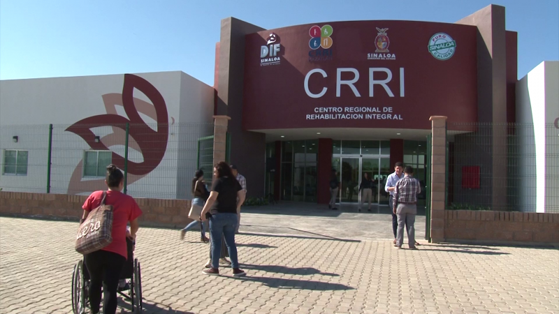 Inauguran Centro Regional de Rehabilitación Integral en Mazatlán