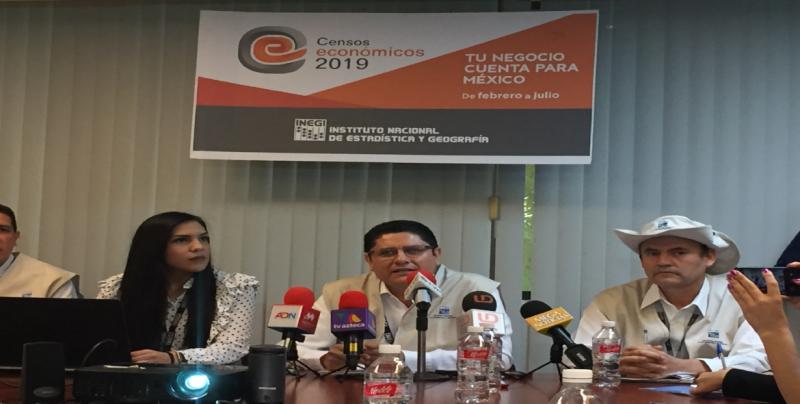 7 de febrero el INEGI  inició con los Censos económico