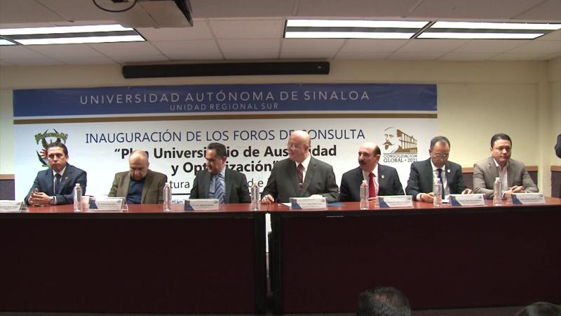 Se inaugura Foro de Consulta para Plan Universitario de Austeridad