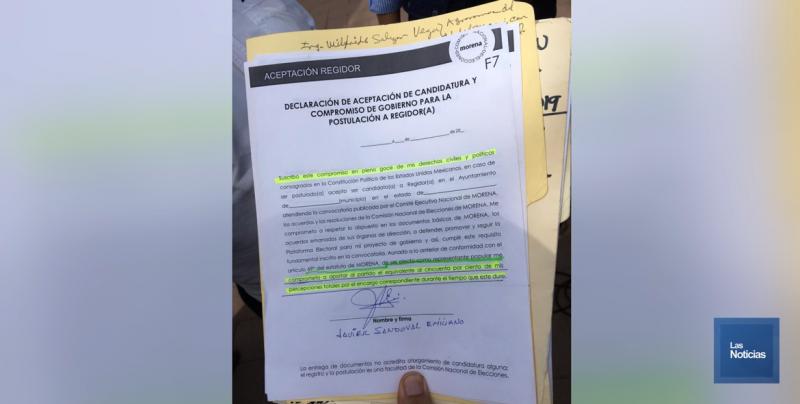 Regidores de Morena no apoyan a partido