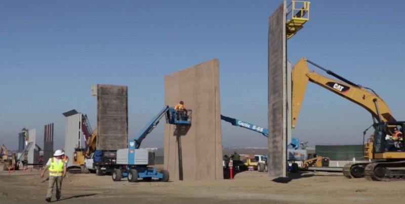 Gobierno de EE.UU. elude normas ambientales para construir el muro fronterizo