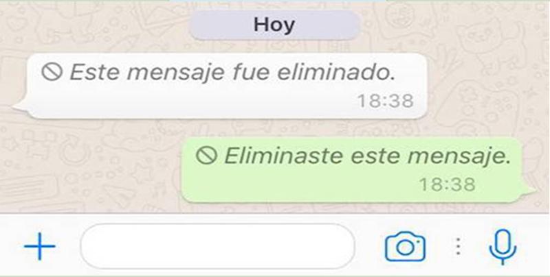 Así podrás ver los mensajes eliminados de WhatsApp