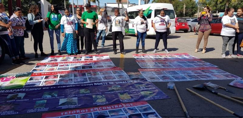 Rastreadoras piden ser atendidas por el alcalde