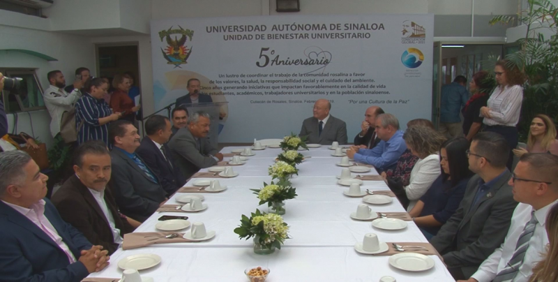 Celebran el quinto aniversario de la creación de la Unidad de Bienestar Universitario