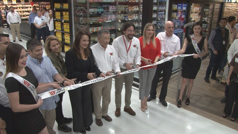Inauguran nueva sucursal Súper Ley Express Guadalupe