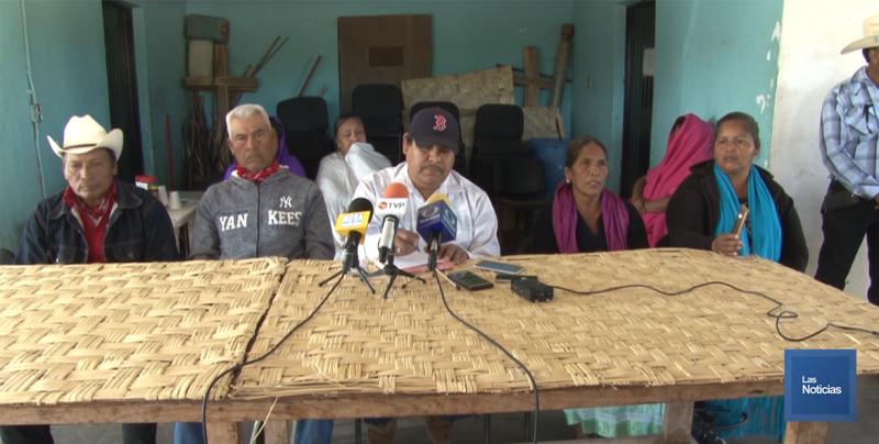 En la Loma de Bacúm, indígenas Yaquis solicitan diálogo a los miembros del Pueblo de Rahúm