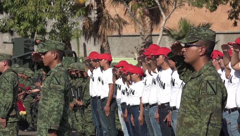 Jóvenes inician su servicio militar