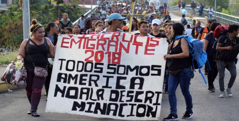 Unos 1.700 migrantes solicitan asilo en México desde la frontera con EE.UU.