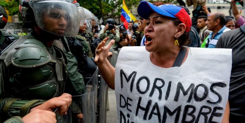 Hambre en Venezuela sobrepasa estándares de países en guerra, dice diputada