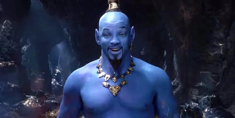 Will Smith aparece como el Genio en nuevo tráiler de Aladdin