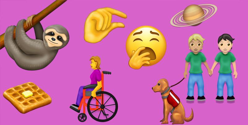 Los nuevos emojis de 2019 ya están aquí