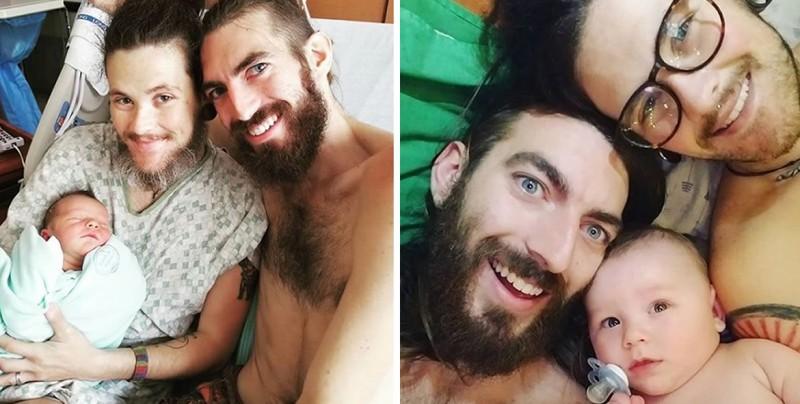 El hombre transexual que dio a luz a un niño