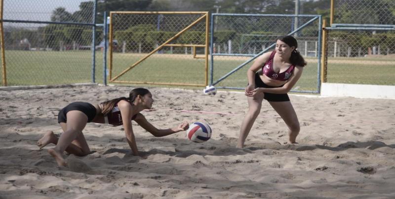 Surgen calificados para Olimpiada Estatal 2019 en Voli de Playa