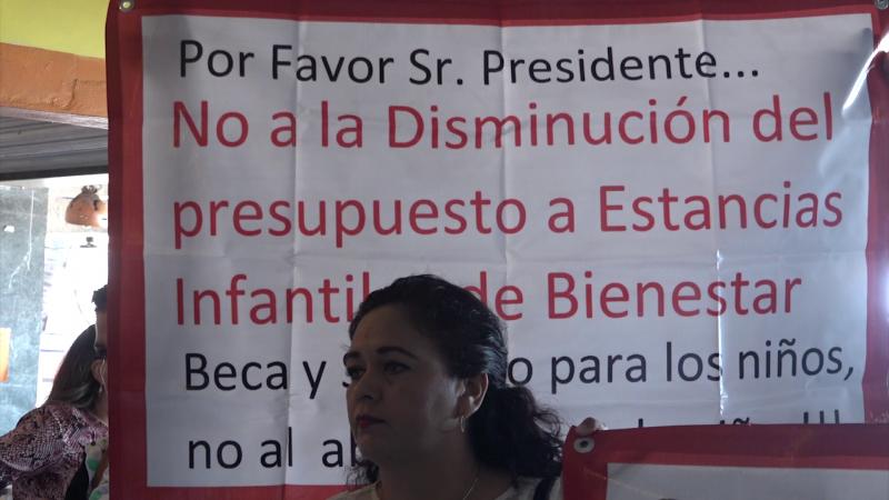 Denuncian desvío de recursos financieros de las estancias infantiles