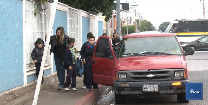 En Cajeme, exhortan a padres de familia a realizar estrategias de seguridad en primarias