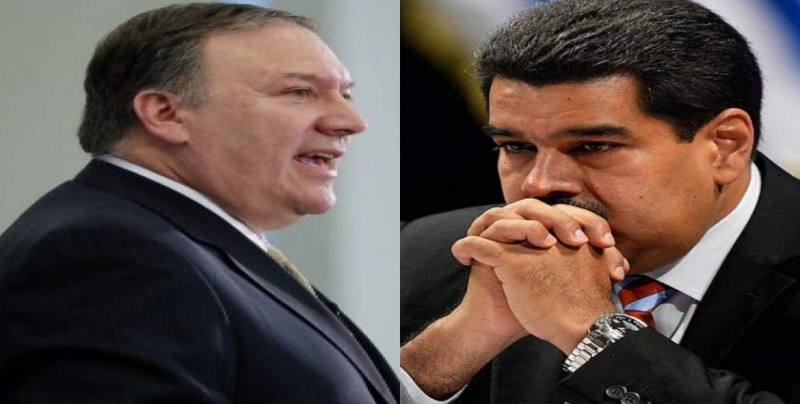 Pompeo dice esperar que todas las naciones retiren su apoyo a Maduro
