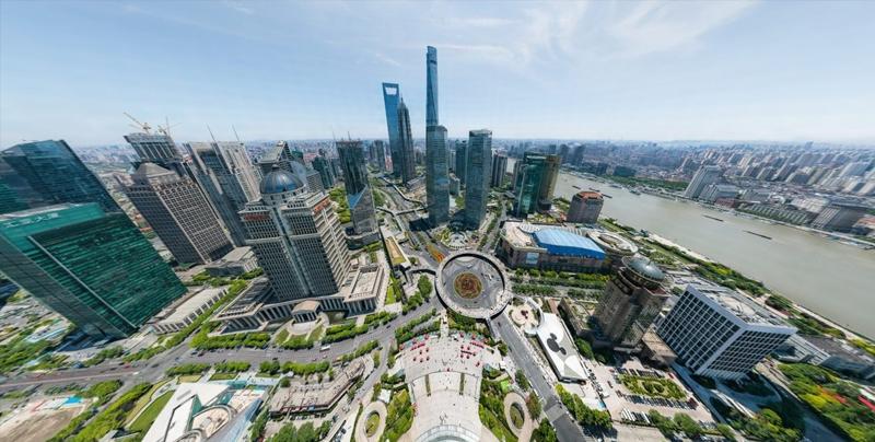 Impresionante foto de 195 gigapixeles que muestra cada rincón de Shanghai