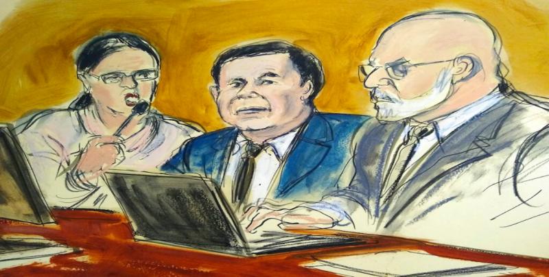 """A favor de que se aplique la justicia en contra de """"El Chapo"""""""