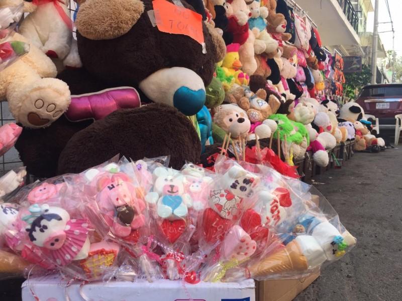 Aumenta venta de regalos para celebrar el Día de San Valentín