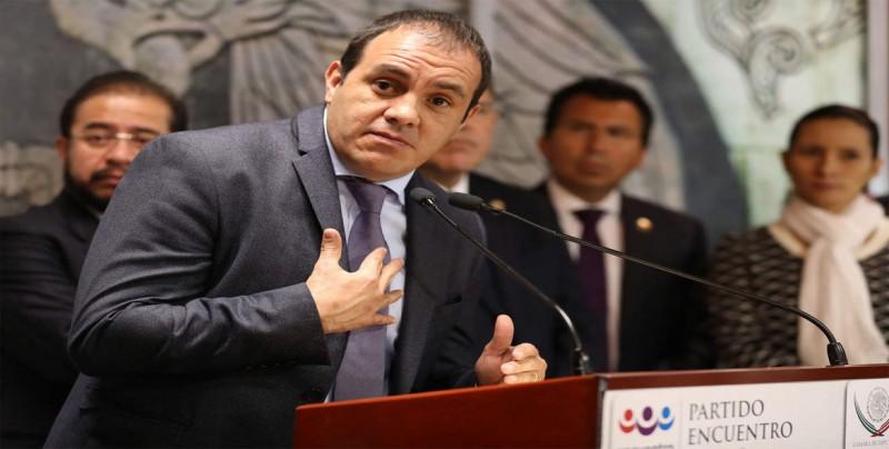 El gobernador Cuauhtémoc Blanco acusa a su antecesor de corrupción en México