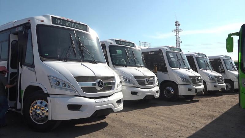 Operarán nuevos camiones urbanos en la ciudad