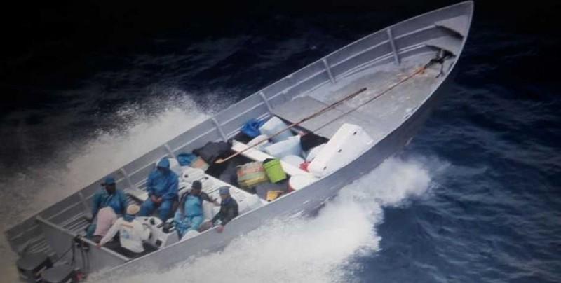 Capturan a tres colombianos y cinco guatemaltecos con 346 kilos de cocaína