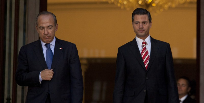 Ordenan al Gobierno mexicano informar sobre viajes de Calderón y Peña Nieto