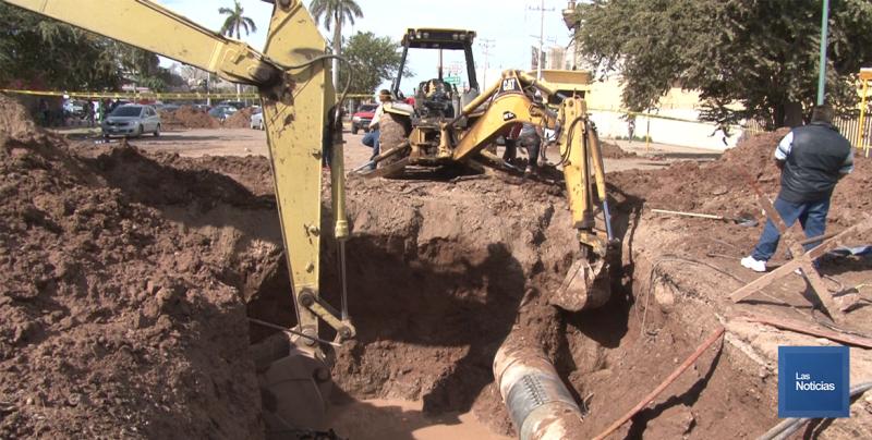 En Cajeme, fuga deja sin agua a colonias del oriente y sur de la ciudad