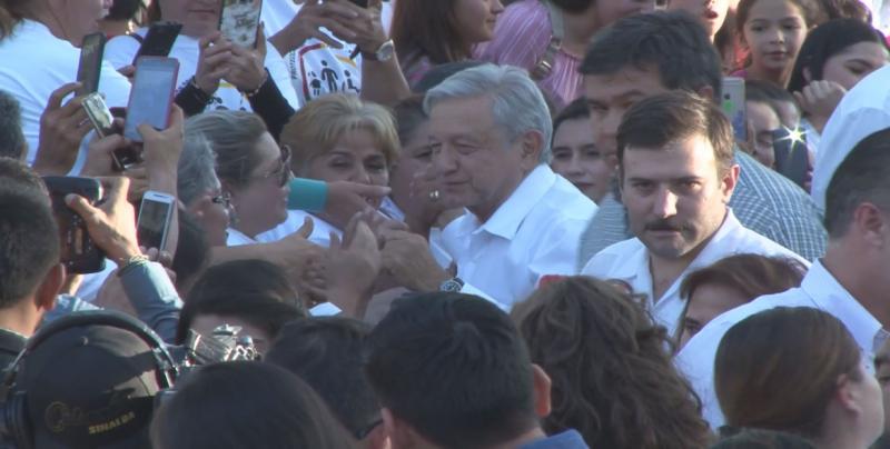 El Presidente Andrés Manuel López Obrador anunció obras y programas millonarios para Badiraguato y la sierra de Chihuahua