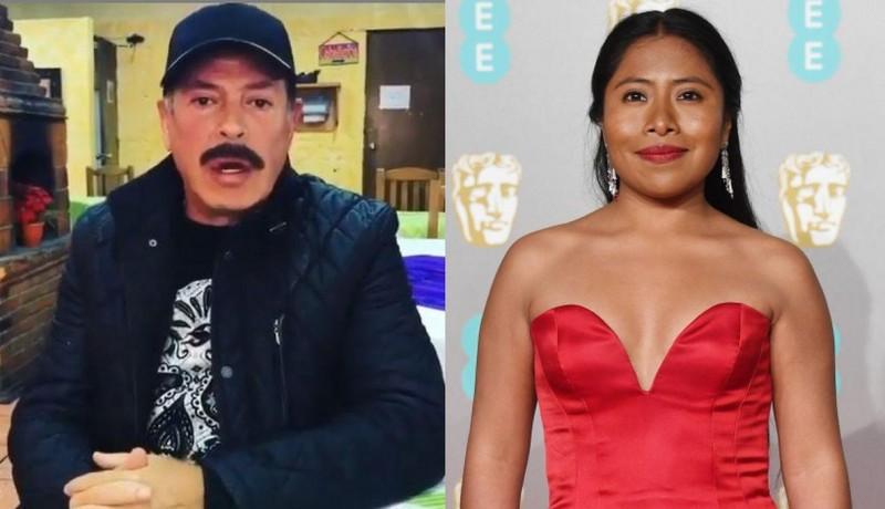 Sergio Goyri se disculpa con Yalitza y ella responde