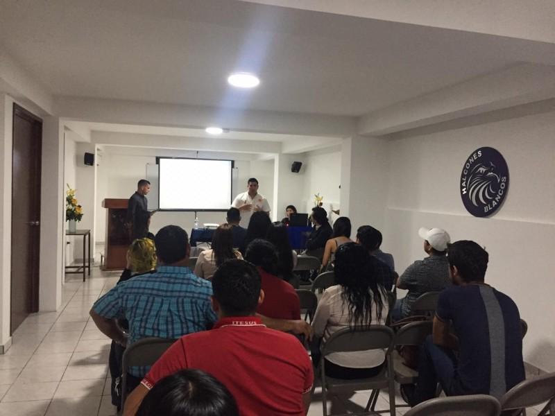 Estudiantes de ITESUS organizan conferencias empresariales