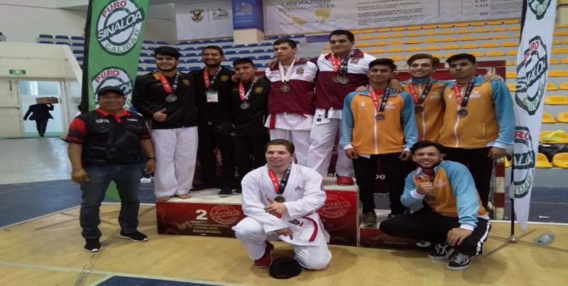 Culiacán domina en la disciplina de Karate