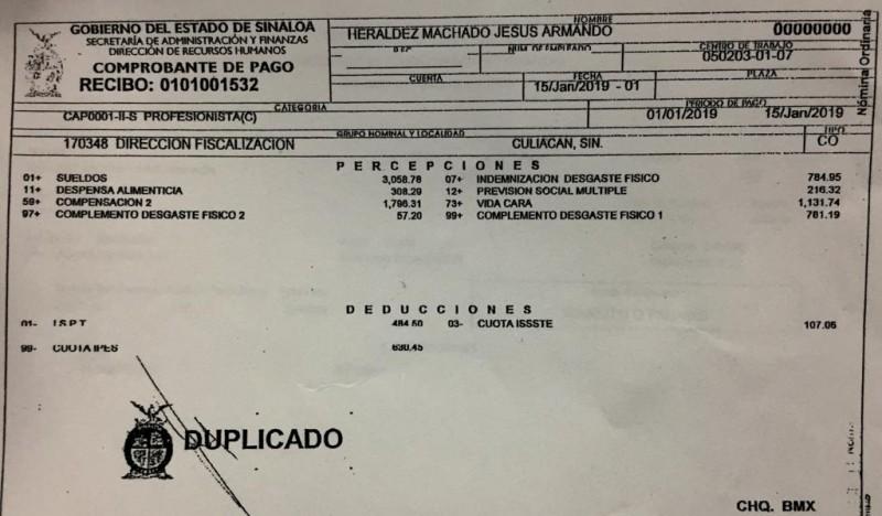 Exhiben a ex líder del STASE Armando Heráldez de cobrar sin trabajar