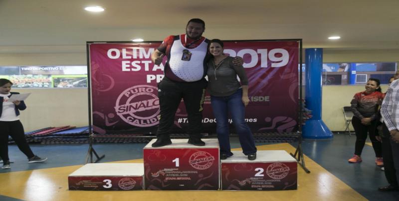 Culiacán el mejor en Levantamiento de Pesas en la Olimpiada Estatal