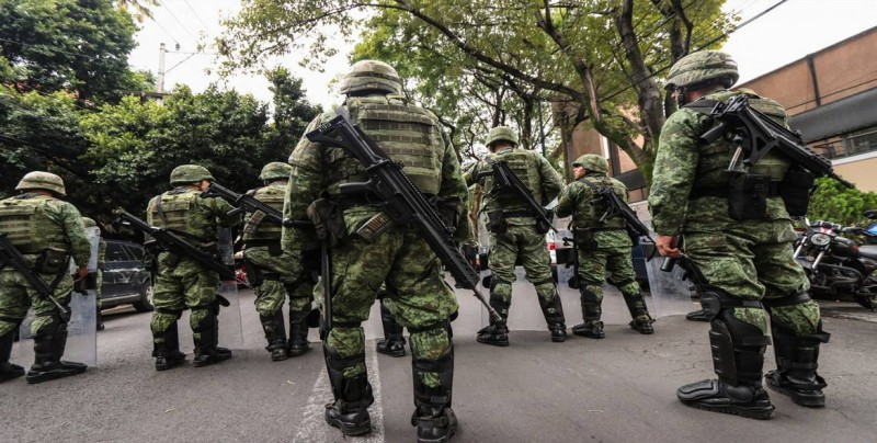 Senado mexicano aprueba en comisiones Guardia Nacional bajo mando militar