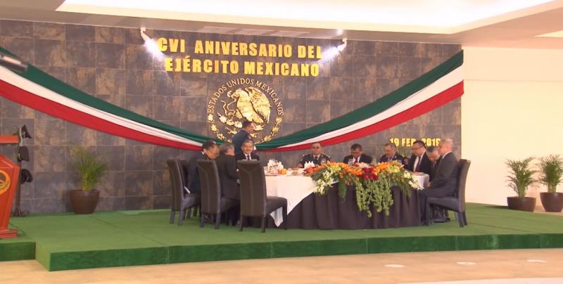 Conmemoran el 106 aniversario de la creación del Ejército Mexicano