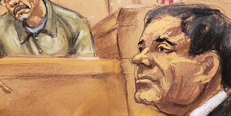 Jurado del juicio al Chapo dice que rompieron reglas del juez, según medio