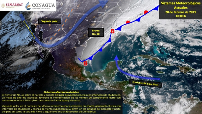 ¡A protegerse del frío esta semana!: Meteorológico