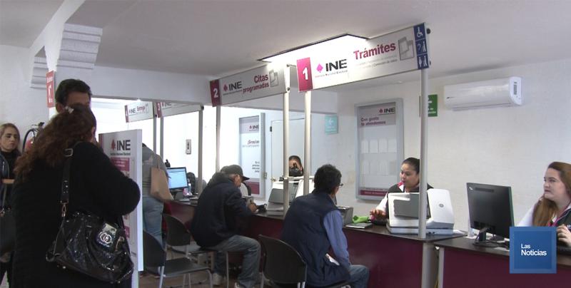 En Navojoa, el INE realiza más de 400 trámites diarios