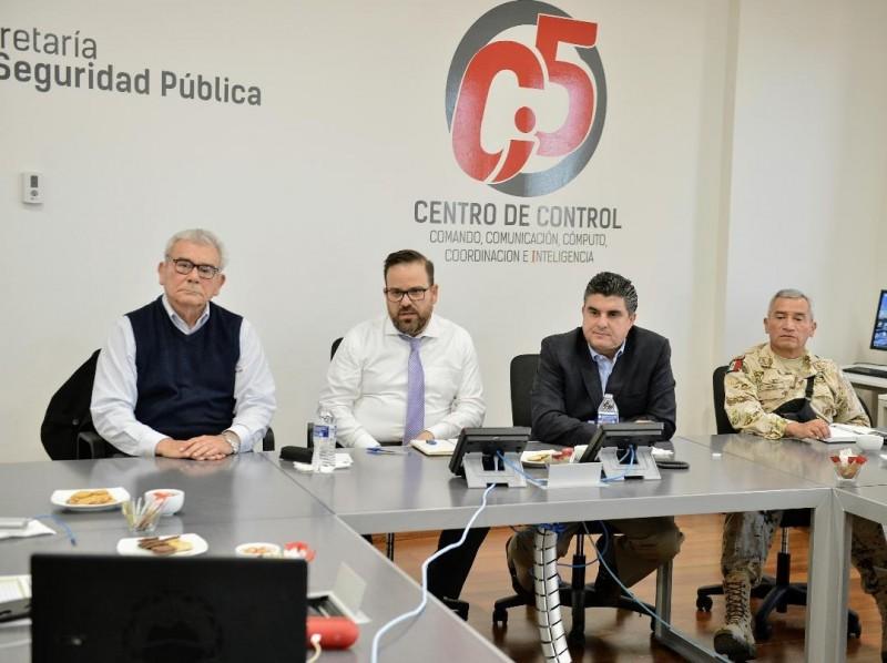 Sesiona Mesa para Seguridad y Reconstrucción de la Paz por lo ocurrido en Cajeme