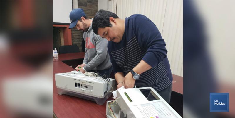 En Navojoa, el INE recibe boletas electrónicas